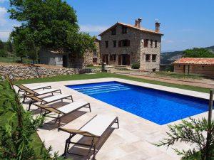 swimming pool Belians casa rural en vallcebre